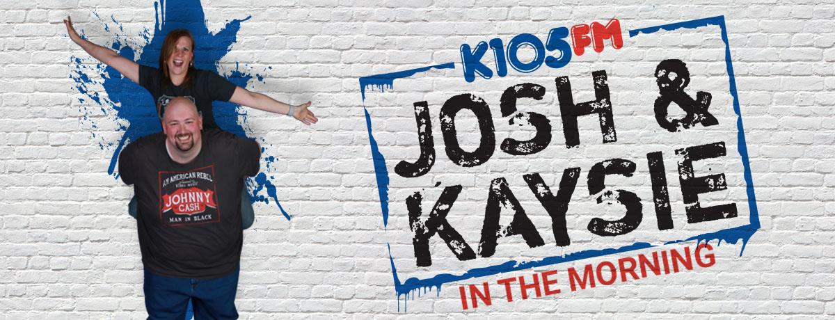 josh-kaysie-promo-k105-slider